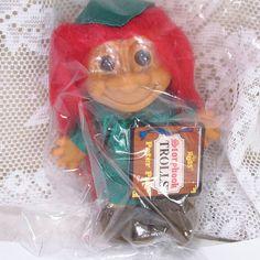 Vintage 1970's Russ Storybook trolls Peter Pan by garagesale715, $35.00