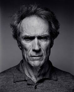 Clint Eastwood by Patrick Svirc.