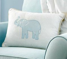 Amazon.com : Walk With Me Pillow : Nursery Decor Products : Baby