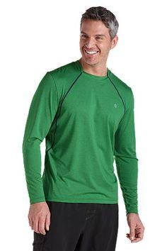 1b7febc01e8 Long Sleeve Aqua T-Shirt  Sun Protective Clothing - Coolibar