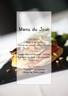 #jemangequoicemidi #larochelle Menu du jour au 123 Hôtel & Spa du Château**** - la Rochelle ... De nombreux menus différents sont à découvrir chaque midi au 123 ! Seulement à partir de 15 euros