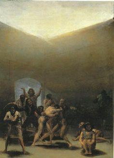 Courtyard of Lunatics - Goya