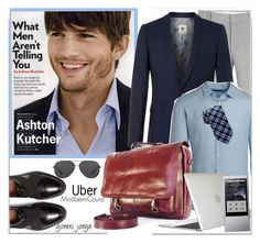 """""""Ashton Kutcher -Celeb style"""" by goreti ❤ liked on Polyvore featuring Topman, Theory, Givenchy, Speck, Tommy Hilfiger, Michael Kors, Astell & Kern, men's fashion, menswear and celebstyle"""
