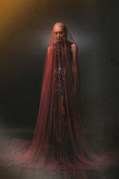 ☫ A Veiled Tale ☫ wedding, artistic and couture veil inspiration - Mark Elzey Jr. – Ereshkigal
