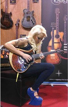 Those shoes and a Knaggs beauty!