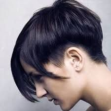 Image result for short edgy bob haircuts                                                                                                                                                      More