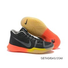finest selection 576d3 96cd3 New Nike Kyrie 3 Black Orange To Yellow Basketball Shoes Lastest, Price    99.34 - Adidas Shoes,Adidas Nmd,Superstar,Originals
