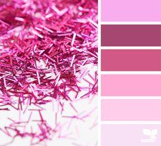 { glittered pink } | image via: @rotblaugelb