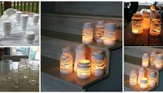 www.goodshomedesign.com diy-yarn-wrapped-jam-jars