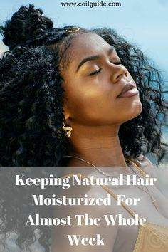 How to keep natural hair moisturized for almost the whole week. Ways to moisturize dry kinky hair for a long time. How to moisturize your hair for lasting hydration. #naturalhair #naturalhaircare #naturalhairtips #kinkyhair Natural Hair Care Tips, Natural Hair Regimen, How To Grow Natural Hair, Natural Hair Styles, Afro Hair Care, How To Grow Your Hair Faster, Hair Porosity, Hair Essentials, Healthy Hair Tips