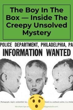 The Boy In The Box — Inside The Creepy Unsolved Mystery Cold Case, Murder Mysteries, Over The Years, Creepy, Mystery, Hilarious, Facts, Relationship, Train