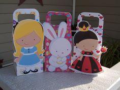 Alice in Wonderland Favor Boxes Set of 12. $14.40, via Etsy.