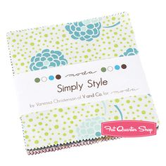 Simply Style Charm Pack V & Co. for Moda Fabrics The bottom three rows are nice.