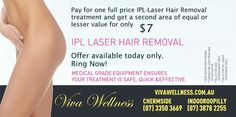 Wow, Grab this bargain today!  Be smooth with IPL-Laser Hair Removal.  3 September 2012