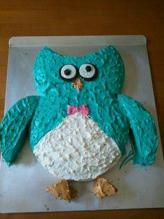Piece of Cake Owl Birthday My Kids K K Pinterest Owl