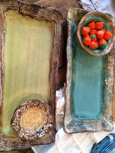 Etta B Pottery makes a great addition to any table. We can ship yours if you are not local!