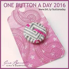 Day 291: Angoli #onebuttonaday by Gina Barrett
