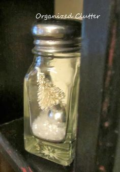 Anthropologie Inspired Shaker Ornaments www.organizedclutterqueen.blogspot.com