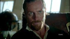 Toby Stephens as Captain Flint. Season 1 of Black Sails.