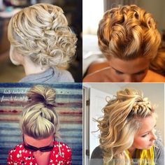 penteado de princesa tumblr - Pesquisa Google
