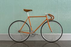 Copper Retro Reissue Bicycle | Custom Fixed Gear Bike | State Bicycle Co.