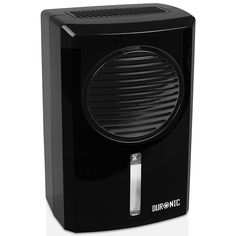 Duronic Mini Dehumidifier - Compact Black Portable Air Dehumidifier for Mould/Damp and Moisture Remover - Perfect for Small Rooms and Spaces in Home Stock Room, Dehumidifiers, Electric Fan, Small Rooms, Small Spaces, Water Tank, Caravan, Mini, Storage Spaces