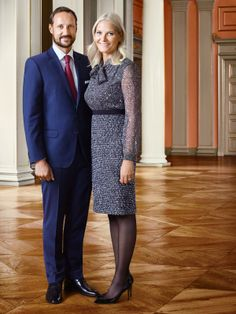 The Crown Prince and Crown Princess Credit: Jørgen Gomnæs/The Royal Court