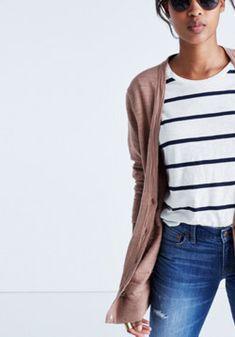 Graduate Cardigan Sweater : | Madewell
