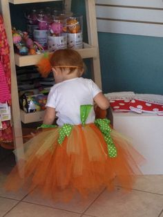 Tutus are all the rage for little girls!