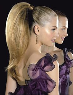High Ponytail Hairstyles - Perfect High Ponytail Styles