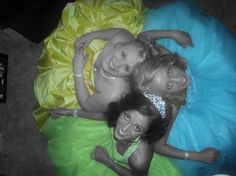 Cute prom pose with best friends :) @Rebeka Sealy Brown @Christina Childress Alexis
