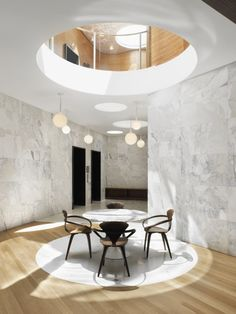 Castore susp // ::INTERIOR:: Lobby at One Jackson Square in New York City by KPF