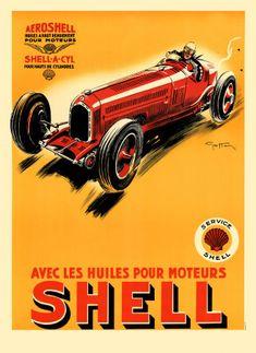 anciennes affiches de publicit s pour voitures anciennes pub auto moto pinterest affiches. Black Bedroom Furniture Sets. Home Design Ideas