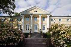 The Manor of Köningsted, Finland Porte Cochere, Home Fashion, Pavilion, Finland, Terrace, Art Deco, Exterior, Mansions, Architecture