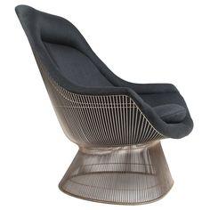 1stdibs | Sculptural High back lounge chair by Warren Platner for Knoll