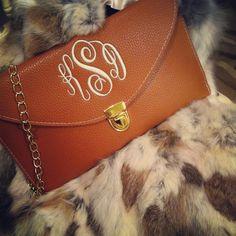 Monogram clutch from Shop Bella C!!