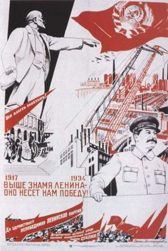 What information should I include in a term paper describing Soviet socialist construction?