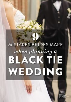 """""""By definition, black tie falls within certain attire constraints. However, some brides may have a more relaxed approach in their interpretation, so by taking the time to clearly convey their wardrobe expectations to their guests via their wedding website, brides will save themselves the unwanted stress of becoming the wardrobe police on their wedding day"""