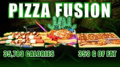 Pizza Sushi Fusion - Epic Meal Time
