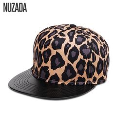 853436b9bc4 Brands NUZADA 2017 Leopard Men Women Baseball Cap Snapback Printing Flowers  Couple Hip Hop Hats Quality Cotton Caps Bone