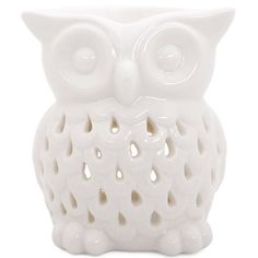 Buy White Owl Oil Burner at competitive prices at Something Different Wholesale. Discover our products here. Candle Lanterns, Candles, Candle Burner, Ceramic Oil Burner, Fragrance Oil Burner, Ceramic Owl, Oil Burners, Scented Oils, Wax Melts