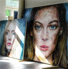 The Others: Fresh hyperrealistic portraits of beautiful women by Harding Meyer…