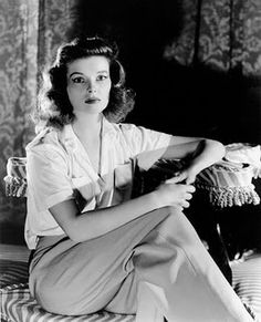 Kathrine Hepburn II Thank you for showing us that pants are cool and can still be feminine.