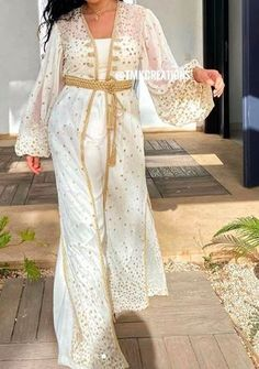 Moroccan, Dresses With Sleeves, Long Sleeve, Fashion, Moda, Sleeve Dresses, La Mode, Gowns With Sleeves, Fasion