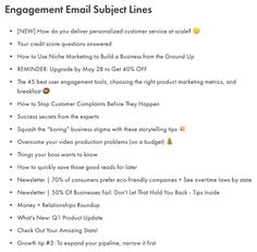 Subject lines are tiny but mighty details in your SaaS email marketing strategy. After all, they play gate keeper to everything inside the email. Engagement Emails, Email Subject Lines, Building A Business, Email Marketing Strategy, Choose The Right, Credit Score, How To Get, Reading, Reading Books