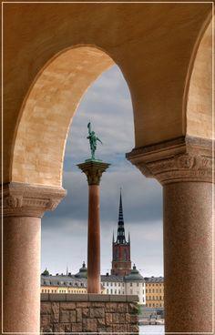 Stockholm, Sweden. Statue of Engelbrekt Engelbrektsson. by Valerijs Kostreckis