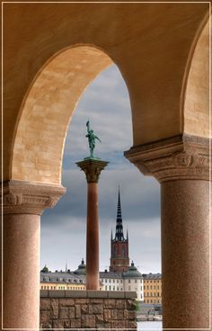 Stockholm, Sweden. Statue of Engelbrekt Engelbrektsson. by Valerijs Kostreckis on 500pxk