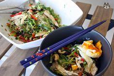 Airinie Cooks: Her Eclectic Kitchen: Vermicelli Chicken Salad