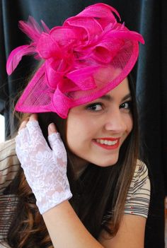 Sinamay Fascinator with feathers and satin headband The Kenni  Perfect Piece for a wedding, tea party or any other special occasion. I understand