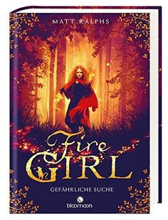 """Rezension zum Buch """"Fire Girl – Gefährliche Suche"""" von Matt Ralphs  Fire Girl ist ein toller Auftakt rund um die Geschichte der kleinen Feuerhexe Hazel. Die gesamte Story bietet durch viel Spannung und die tolle Erzählweise des Autors ein sehr schönes Lesevergnügen. Besonders den kleinen Bramley hab ich ins Herz geschlossen und die Dialoge zwischen Hazel und ihm bieten einen witzigen Kontrast zum Ernst der Geschichte.   #Fantasy #FireGirl #BloomoonVerlag #MattRal"""